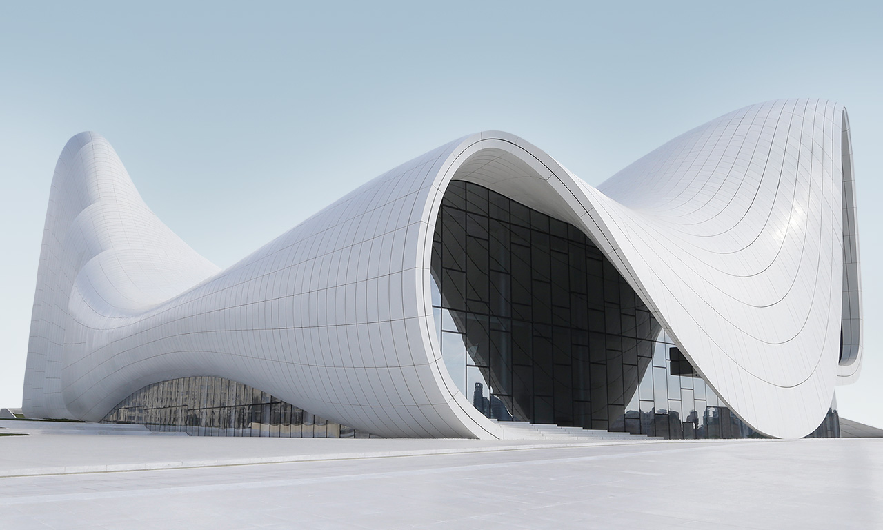 Modern Contemporary House Plans Heydər Əliyev Mərkəzi